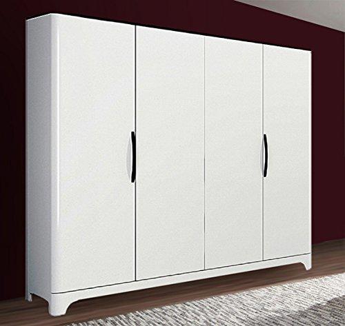 glasvitrine 65125 vitrine highboard 81cm weiss hochglanz. Black Bedroom Furniture Sets. Home Design Ideas