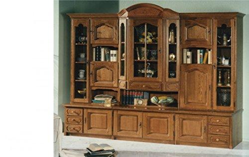 anbauwand wohnwand eiche rustikal wohnzimmerschrank schrank wohnzimmer m bel24. Black Bedroom Furniture Sets. Home Design Ideas