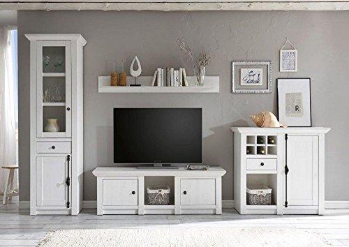 Beautyscouts wohnwand feres iii schrankwand wohnzimmerschrank anbauwand medienwand tv wohnwand - Medienwand tv ...