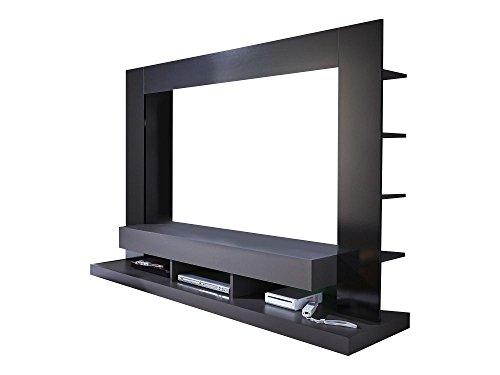 Beautyscouts wohnwand san diego noir schrankwand wohnzimmerschrank anbauwand medienwand tv - Medienwand tv ...