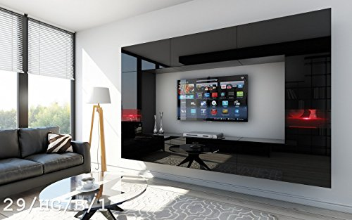 Future 29 moderne wohnwand exklusive mediambel tv schrank for Wohnwand exklusiv