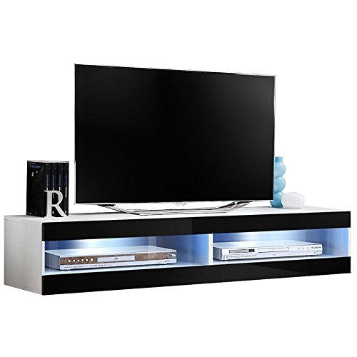 justhome fly t33 lowboard tv board fernsehtisch hxbxt 30x160x40 cm gro e farbauswahl g nstig. Black Bedroom Furniture Sets. Home Design Ideas