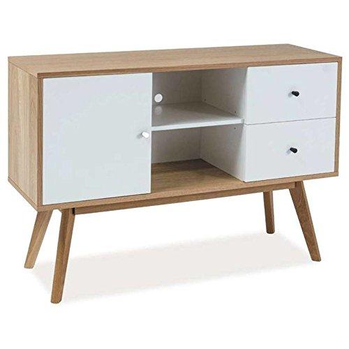 Justhome scandic ki kommode sideboard wohnzimmerschrank for Sideboard 80 x 40