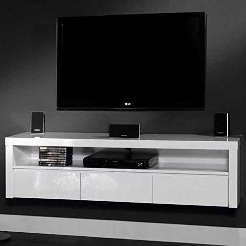 salesfever tv h ngeschrank mit 3 schubladen und offenem. Black Bedroom Furniture Sets. Home Design Ideas