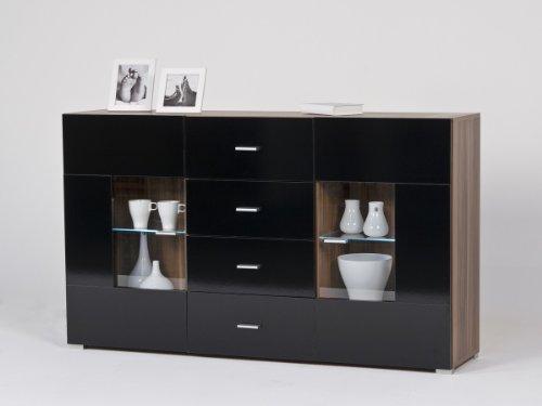 sideboard kommode versch farben optional m beleuchtung beleuchtung ohne beleuchtung farbe. Black Bedroom Furniture Sets. Home Design Ideas