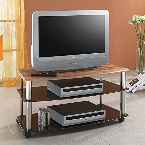 tv wagen emjana in zwetschge dekor pharao24 g nstig online. Black Bedroom Furniture Sets. Home Design Ideas