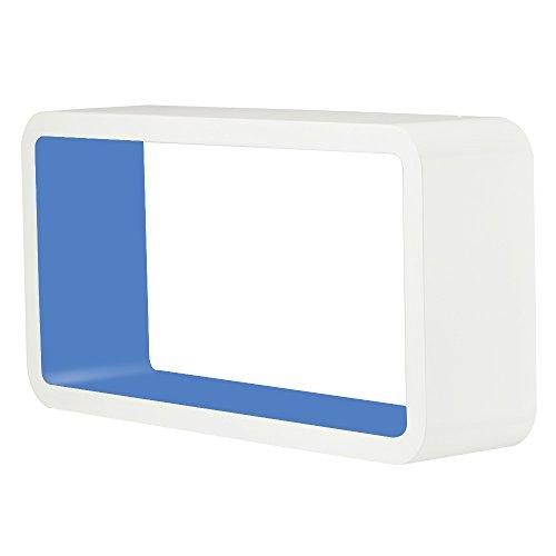 tanburo 3er set wandregal cube regal retro wandregal b cherregal mdf holz 6 m bel24. Black Bedroom Furniture Sets. Home Design Ideas