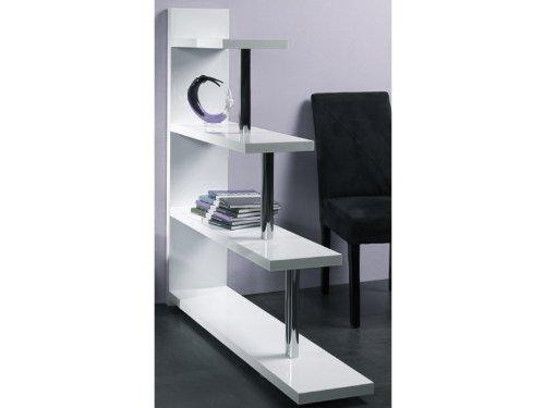 HAKU Möbel 87371 Regal 100 x 29 x 98 cm, weiß