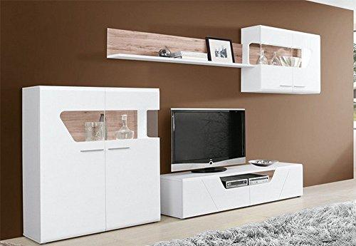 hti living wohnwand kando g nstig online kaufen m bel24 wohnw nde. Black Bedroom Furniture Sets. Home Design Ideas