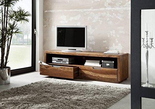 sheesham holz massiv m bel lackiert tv board massivm bel holz massiv walnuss duke 114 m bel24. Black Bedroom Furniture Sets. Home Design Ideas