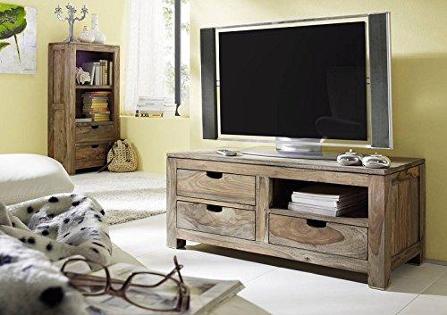 palisander holz massiv lowboard sheesham massivm bel nature grey 0115 g nstig online kaufen. Black Bedroom Furniture Sets. Home Design Ideas