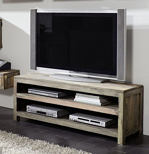 palisander massiv holz lowboard sheesham m bel nature grey. Black Bedroom Furniture Sets. Home Design Ideas
