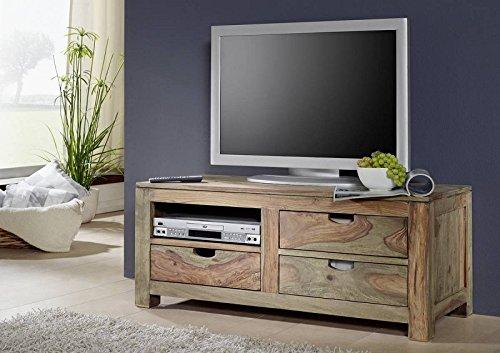 sheesham massivm bel lowboard palisander m bel massiv holz nature grey 0114 g nstig online. Black Bedroom Furniture Sets. Home Design Ideas