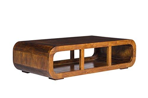 Woodkings couchtisch springston 115x60cm akazie braun for Wohnzimmermobel echtholz modern