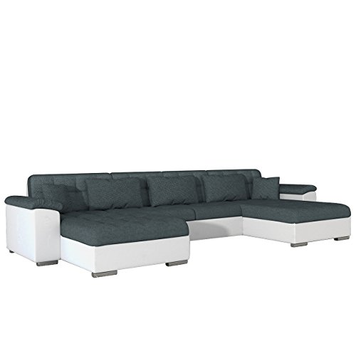 ecksofa wicenza dot design wohnlandschaft big sofa couch mit schlaffunktion bettfunktion. Black Bedroom Furniture Sets. Home Design Ideas