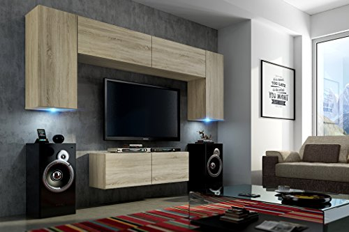 future 2 zeitnah wohnwand wohnzimmer m belset anbauwand schrankwand m bel set exklusive. Black Bedroom Furniture Sets. Home Design Ideas