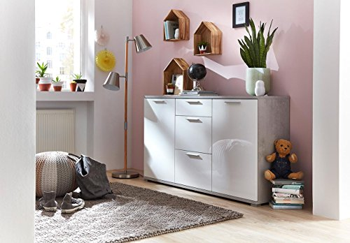 kommode sideboard schrank anrichte highboard flurkommode wohnzimmerkommode schlafzimmerkommode. Black Bedroom Furniture Sets. Home Design Ideas