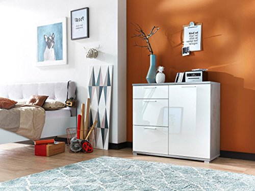 kommode sideboard schrank anrichte highboard flurkommode. Black Bedroom Furniture Sets. Home Design Ideas
