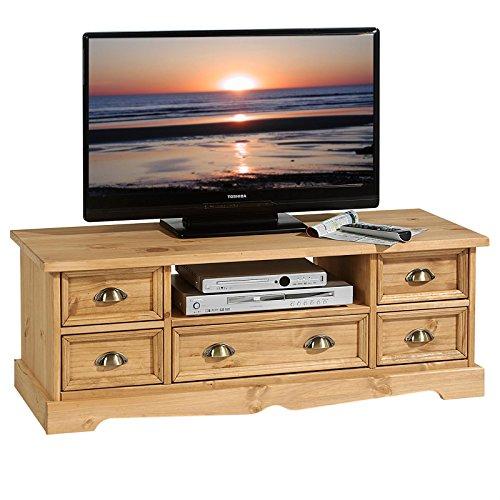 lowboard tequila tv m bel tv rack landhaus stil fernsehtisch kiefer tv bank gebeizt gewachst. Black Bedroom Furniture Sets. Home Design Ideas