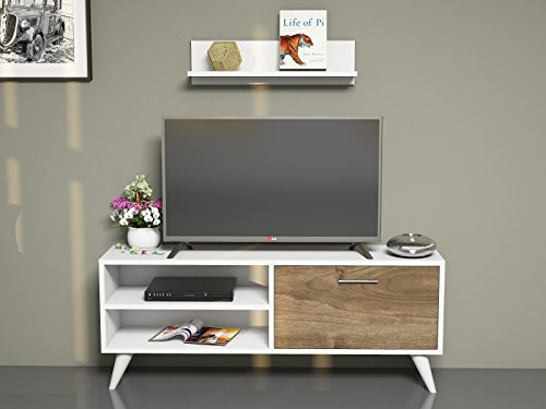 tv board lowboard party in wei nussbaum fernsehtisch. Black Bedroom Furniture Sets. Home Design Ideas