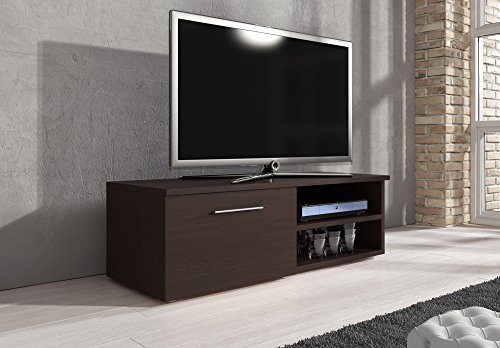tv m bel lowboard tv element tv schrank tv st nder entertainment vegas wenge 120 cm g nstig. Black Bedroom Furniture Sets. Home Design Ideas