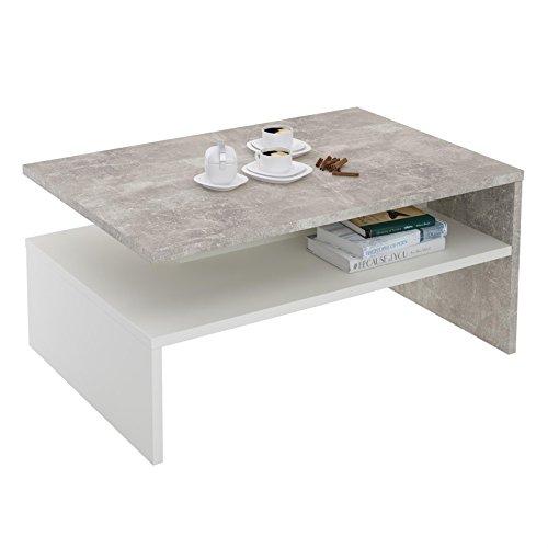 couchtisch paulina beistelltisch wohnzimmertisch in beton. Black Bedroom Furniture Sets. Home Design Ideas