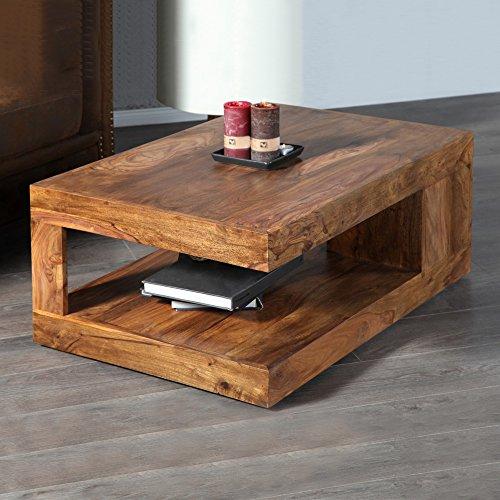cag couchtisch agra aus sheesham massiv holz gewachst 90cm x 60cm g nstig online kaufen. Black Bedroom Furniture Sets. Home Design Ideas