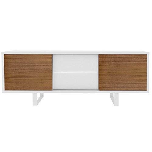 temahome sideboard mit 2 schiebet ren und 2 schubladen. Black Bedroom Furniture Sets. Home Design Ideas
