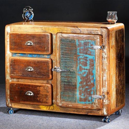 salesfever sideboard aus massivholz glace altholz im. Black Bedroom Furniture Sets. Home Design Ideas