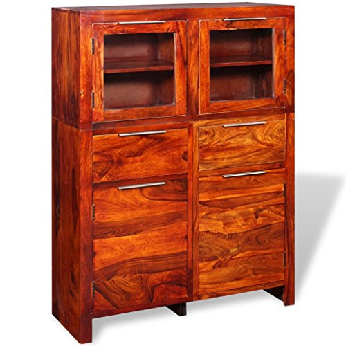 Festnight sideboard highboard kommode aus holz 100 35 for Kommode 140 x 100