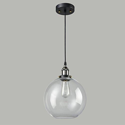 claxy pendelleuchte klassisch kugel formig glas vintage. Black Bedroom Furniture Sets. Home Design Ideas