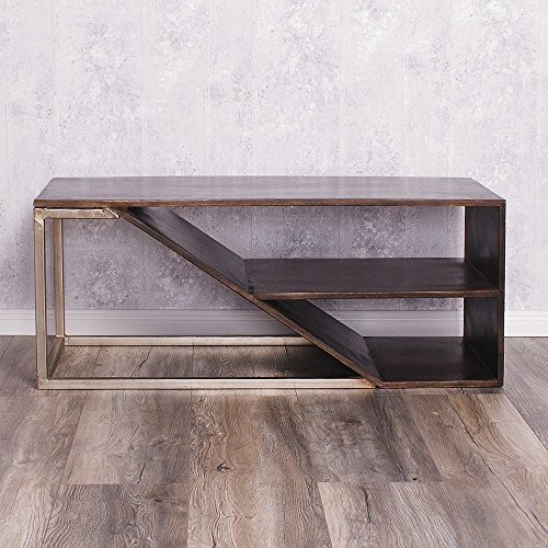 Sheesham Couchtisch Palisander TV Board DEVI 110cm Walnut