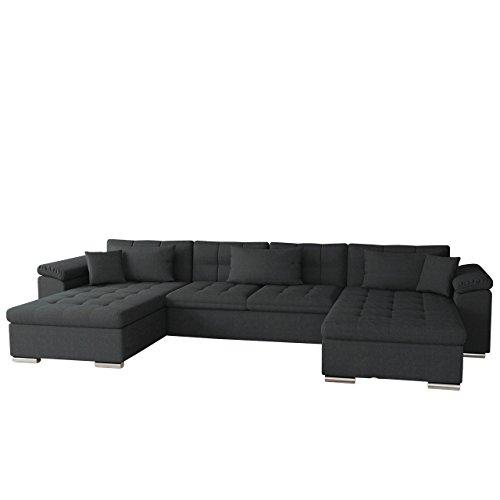 Mirjan24  OUTLET ! Ecksofa Wicenza SALE! Big Sofa Eckcouch Couch! mit Schlaffunktion Bettfunktion! Design Wohnlandschaft! U-Form (Dot 95)