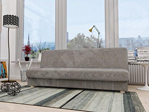 Schlafsofa Image III, Bettsofa, Schlafcouch, Sofa mit Bettkasten und Schlaffunktion, Couch, Wohnlandschaft (Lawa 05)