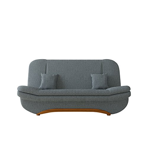 Mirjan24  Sofa Weronika mit Bettkasten und Schlaffunktion, Schlafsofa, Große Farb- und Materialauswahl, Couch vom Hersteller, Wohnlandschaft (Bristol 2446)