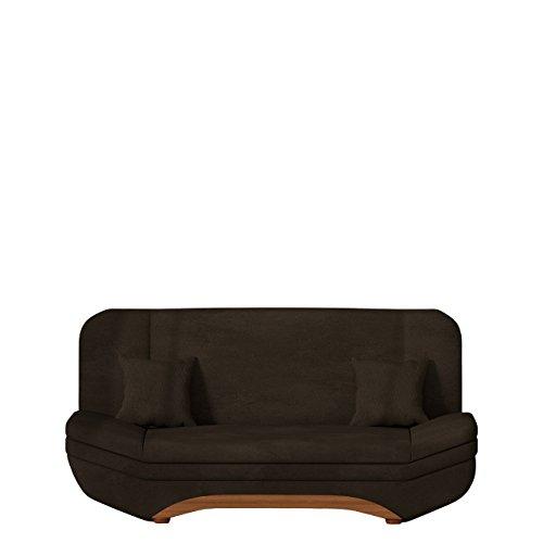 Sofa Weronika Lux SALE mit Bettkasten und Schlaffunktion, Schlafsofa, Große Farb- und Materialauswahl, Couch vom Hersteller, Wohnlandschaft (Casablanca 2308)
