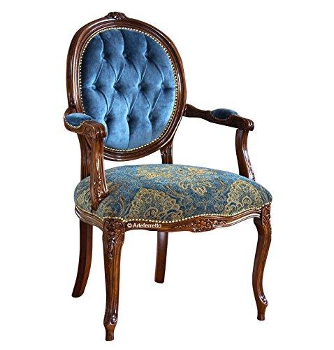 Klassischer Sessel Ovale Rücklehne
