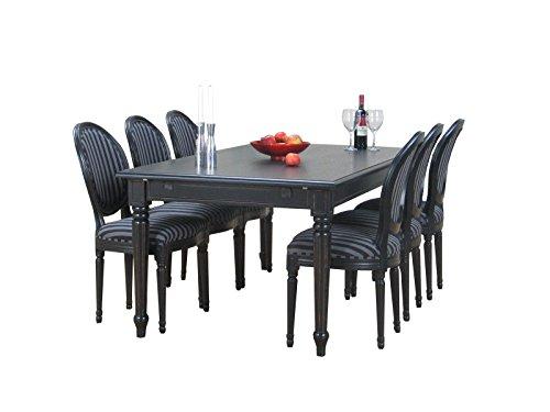 8tlg essgruppe barock esstisch sitzgruppe tischgruppe. Black Bedroom Furniture Sets. Home Design Ideas