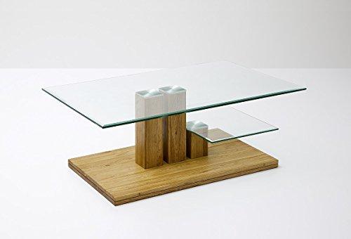 Robas Lund Couchtisch, Wohnzimmertisch, Paco, Asteiche/Massivholz, 110 x 70 x 40 cm, 58797A14