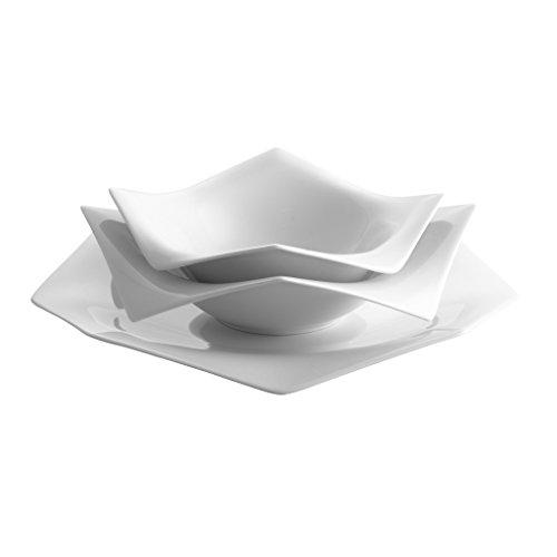 Rosenthal - A La Carte-Origami Set 3-tlg. - Geschirrset - Porzellan - weiß