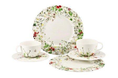 rosenthal brillance fleurs sauvages geschirr set 6 teilig mit fahne g nstig online kaufen. Black Bedroom Furniture Sets. Home Design Ideas