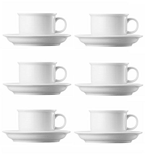 Rosenthal Thomas Trend Weiss Kaffeetassen Set 12tlg.