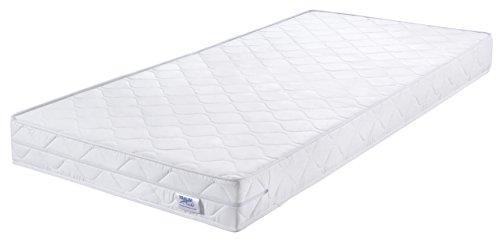 Traumnacht Basic Komfortschaummatratze Härtegrad 2 (H2), weiß