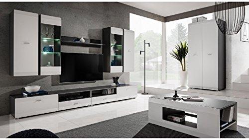 JUSTyou Mosel Wohnzimmerset Wohnwand Wohnzimmermöbel in Diversen Varianten
