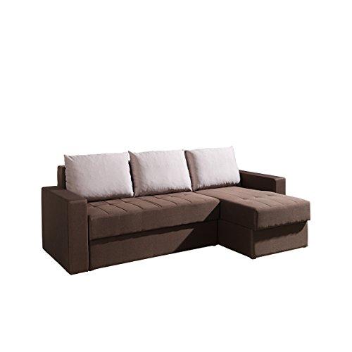 eckcouch ines mit zwei bettkasten und schlaffunktion. Black Bedroom Furniture Sets. Home Design Ideas