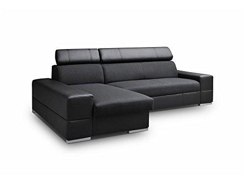 elegante eckcouch cortina ecksofa mit bettkasten und. Black Bedroom Furniture Sets. Home Design Ideas