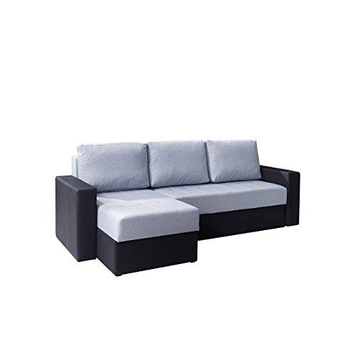 mirjan24 elegantes eckcouch calabrini polsterecke mit 2. Black Bedroom Furniture Sets. Home Design Ideas