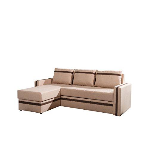 mirjan24 elegantes eckcouch euforia mit bettkasten und. Black Bedroom Furniture Sets. Home Design Ideas