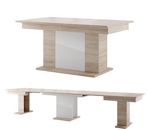 Tisch STAR Esstisch Säulentisch ausziehbar