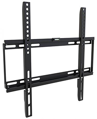 RICOO TV Wandhalterung Universal F0144 Flach Ultra Slim Fernsehhalterung Halterung LCD Wandhalter LED Flachbildschirm Bildschirmdiagonale 66cm/26-120cm/47 Zoll/VESA 200x200 400x400